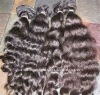 Whole sales body wave Indian virgin human hair extension