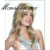 Wholesale and long silky straight wave blond human hair full lace wig for ladies