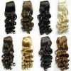 Wholesale curly Virgin hair weaving hair extension