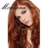 Wholesale light brown long body wave human hair wigs for ladies