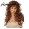Wholesale long water wave human hair full lace wig for black ladies