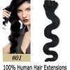 Wholesale one piece clip in hair extension