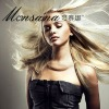 Wholesale platin blonde long straight human hair wigs for ladies