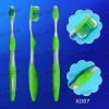 (X067) double-action bristle adult toothbrush