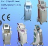 YAG Laser + E-light+ Bipolar RF for all facial problems removal beauty machine