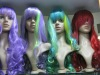 all colors available synthetic cosplay wigs