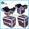 aluminum cosmetic case, makeup case (HX-C001KS)