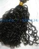 black brazilian curly 100% virgin  brazilian remy hair weft