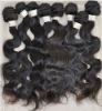 black hair body wave remy indian hair weaving