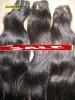 black hair russian virgin  human hair