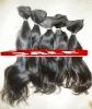 black hair virgin hair russian human hair