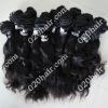 black human hair extension virgin raw brazilian hair