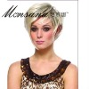 blonde hotselling fashionable100% Indian remy hair short bob full lace wigs for African American market