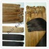 blonde human remy hair extension
