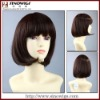 bob short style synthetic hair wig