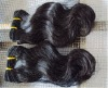 body wave human hair extensions/weft