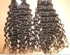 brazilian virgin italian wave human hair extensions/weft
