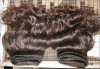 brazilian virgin natural color remy human hair extension/weave