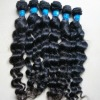 brazilian virgin single weft hair accept a custom order