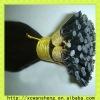 bright balack i-tip remy hair extension