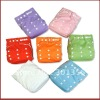 bright color waterproof sunny baby cloth diapers washable