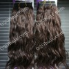 brown curly remy hair human extensions,fast shipping