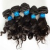 candy curly mongolian virgin remy hair weft in stock