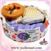 canvas basket bath and body gift sets