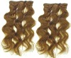 cheap clip in body weave hair extensions 2 pieces wholesale
