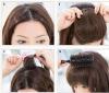 clip-in human hair bang