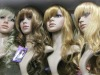 colored wigs synthetic,curly synthetic wigs