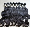 competitive pirce virgin indian remy body wavy weaving hair