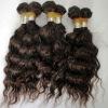 dark brown loose wave extension peruvian hair weaving