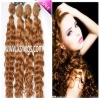 deep wave brazilian hair extensions 100g/pcs