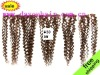 deep wave clip human hair extendion