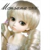 doll/toy special use synthetic full lace wig
