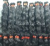 double drawn 100 pure remy hair extension easy to dyed