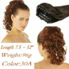extremely natural synthetic hair accessory