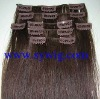 factory price clip in human hair extension
