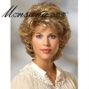 fashinable short full lace human hair wig