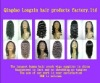 fashion 100% human hair full lace wigs