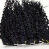 fashion afro kinky curly indian remy hair weave