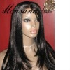 fashion and beautiful full lace human hair wig
