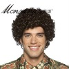 fashion and hotselling full lace wigs for mature men/Afro black men's wig