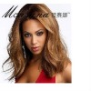 fashion celebrity human hair full lace wig