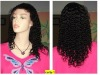 fashion curl 16inch 1B# indian hair lace wig