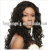 fashionable Brazilian hair full lace wig