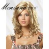 fashionable long full lace wig