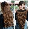 fashionable long human hair extension
