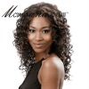 fashionable semi-long full lace wig for black women
